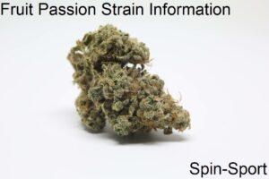 Fruit Passion Strain Information