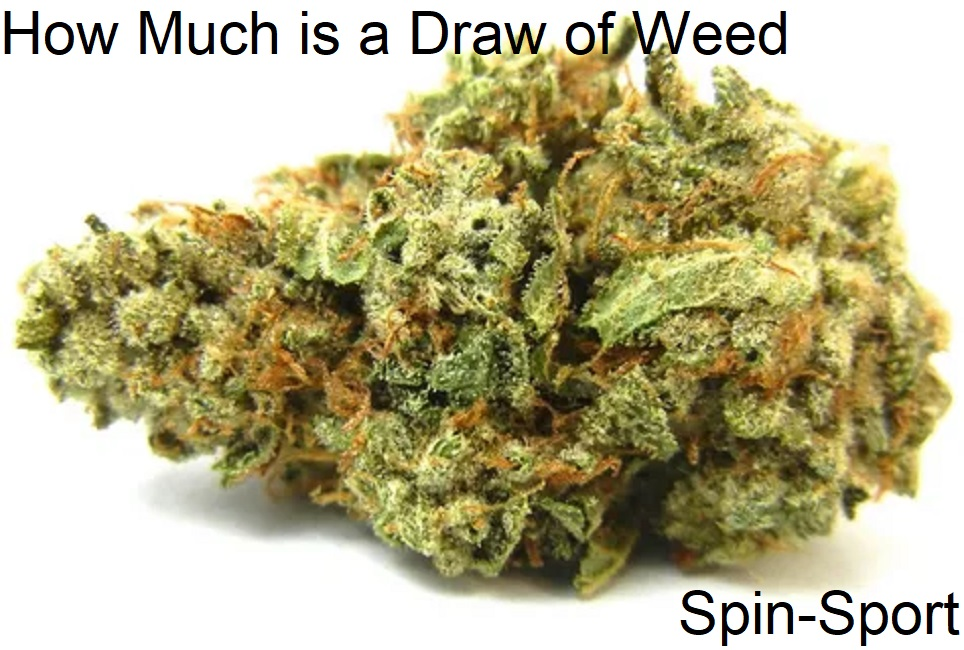 How Much is a Draw of Weed
