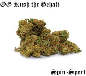 OG Kush THC Gehalt