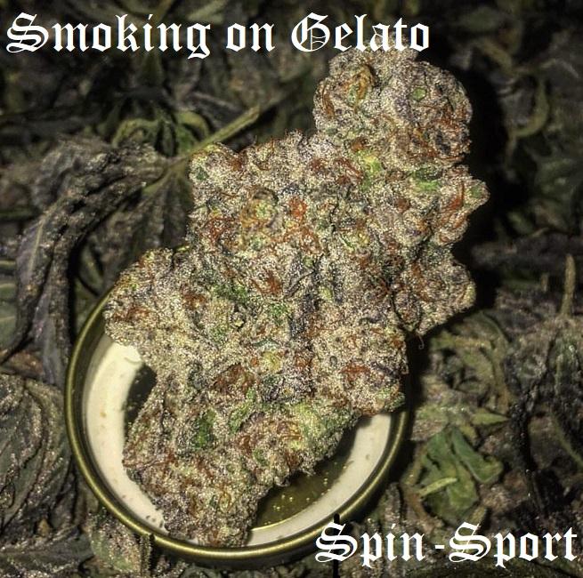 Smoking on Gelato